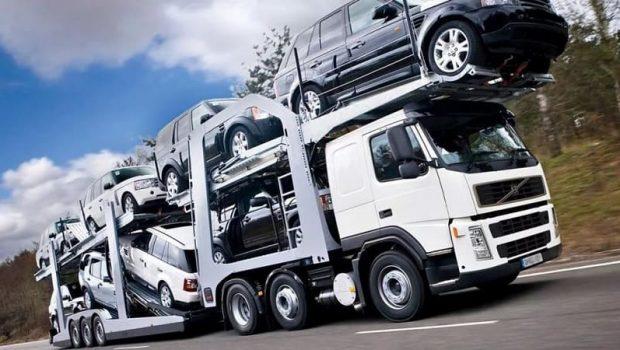 Применение автовоза для перевозки автомобилей